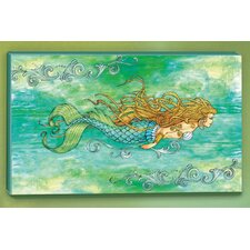 I Sea Life Siren of the Sea Mermaid Canvas Art
