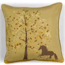 Abigail and Lily Equine Fall Frolic Outdoor Sunbrella Horse Pillow