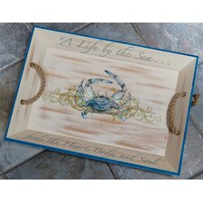 <strong>Rightside Design</strong> I Sea Life Crab Serving Tray