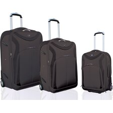 "Sydney ""Sleek-Traveler"" 3 Piece Luggage Set"