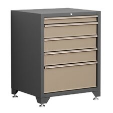 "Pro Series 28"" Wide 5 Drawer Bottom Cabinet"