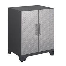 "Diamond Plate Performance Plus Series 34.5"" H x 24"" W x 16"" D Base Cabinet with 2 Door"
