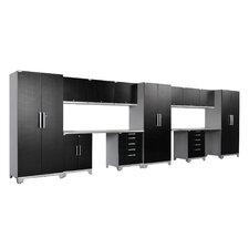 Performance Plus Diamond Series 7' H x 23' W x 2' D 14 Piece Cabinet Set