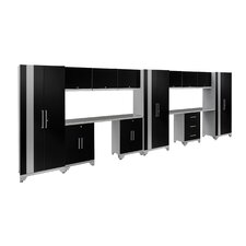 Performance Series 6' H x 20' W x 2' D 14 Piece Cabinet Set