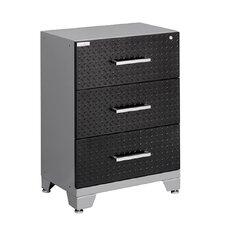 "Performance Diamond Series 30"" H x 24"" W x 16"" D 3 Drawer Tool Base Cabinet"