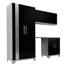 Performance Plus Series 7' H x 8' W x 2' D 5 Piece Cabinet Set