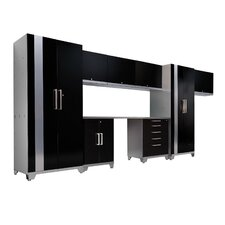 Performance Plus Series 7' H x 15' W x 2' D 9 Piece Cabinet Set