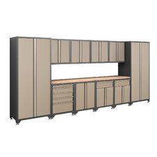 Pro Series 7' H x 15.5' W x 2' D 12-Piece Cabinet Set