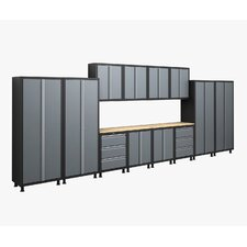 RTA Series 6' H x 19' W x 1.5' D 14-Piece Cabinet Set