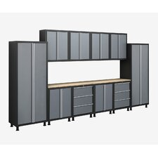 Bold Series 6' H x 14' W x 1.5' D 12-Piece Cabinet Set