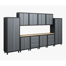 RTA Series 6' H x 14' W x 1.5' D 12-Piece Cabinet Set