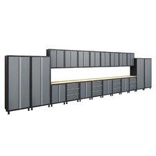 Bold Series 6' H x 27.5' W x 1.5' D 24-Piece Cabinet Set