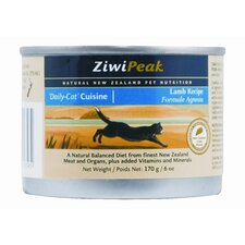 Canned Lamb Wet Cat Food (6-oz, case of 12)