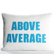 Zen Master Above Average Pillow