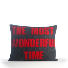 The Most Wonderful Time Pillow
