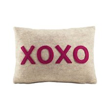 XOXO Lumbar Throw Pillow