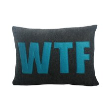 WTF Decorative Lumbar Pillow