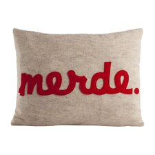 Merde Decorative Throw Pillow