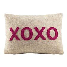 XOXO Lumbar Throw Pillow