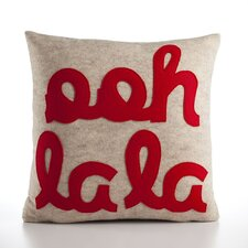 It Starts with a Kiss Ooh La La Decorative Pillow