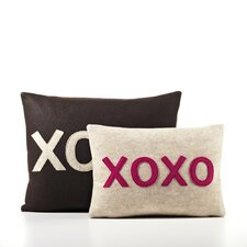 """XOXO"" Decorative Pillow"
