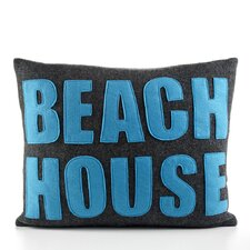 """Beach House"" Decorative Pillow"