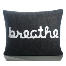 "<strong>Alexandra Ferguson</strong> Zen Master ""Breathe"" Decorative Pillow"