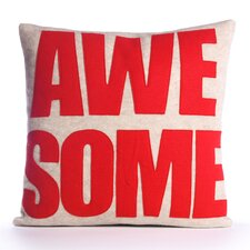"""Awesome"" Pillow"