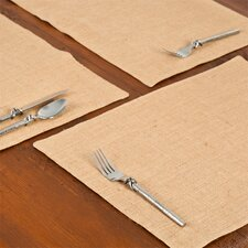 Burlap Place Mat (Set of 6)