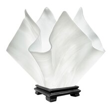 "Radiance Flame Vase 11.25"" H Table Lamp"