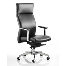 Solium High-Back Leather Executive Chair