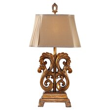 Edwina Table Lamp in Antique Gold