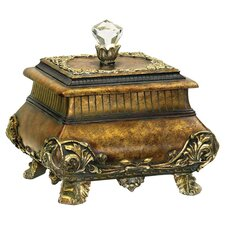 Wilton Box in Antique Gold