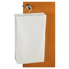 Doorknob Laundry Bag in White