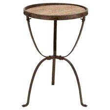 End Table in Rustic Brown