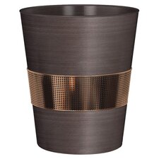 Selma Waste Basket in Bronze & Copper