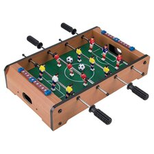 Mini Foosball Table in Natural