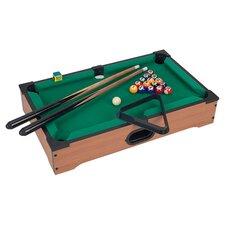 Mini Pool Table Set in Green