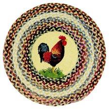 Clarendon Ella's Rooster Round Rug