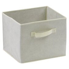 Capri Foldable Fabric Basket in Beige