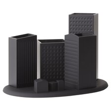 Skyline Desk Organizer in Black