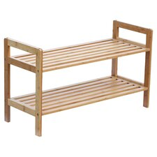 Bamboo Shoe Rack in Natural