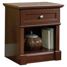 Palladia 1 Drawer Nightstand in Cherry