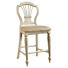 "Wilshire 23"" Counter Stool in White"