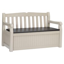 Eden Storage Bench in Beige