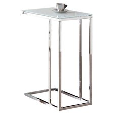 San Saba End Table in Chrome