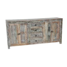 Harbor Distressed Buffet in Lime Wash