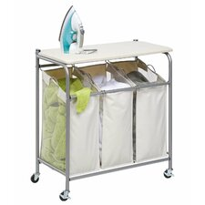 Honey Can Do Laundry Organizer in Chrome