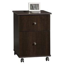 James Mobile File Cabinet in Cinnamon Cherry
