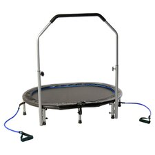 Oval Trampoline in Grey